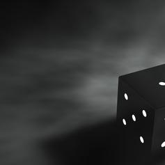 Thumb cube 3d graphics black gray background 3d graphics 74555 1920x1080