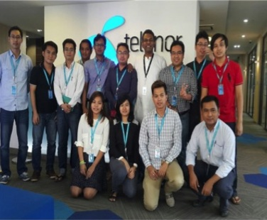 In-House programme with TELENOR, MYANMAR on Information & Network Security.
