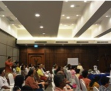 International workshop in THAILAND on Self-empowerment and Leadership qualities.